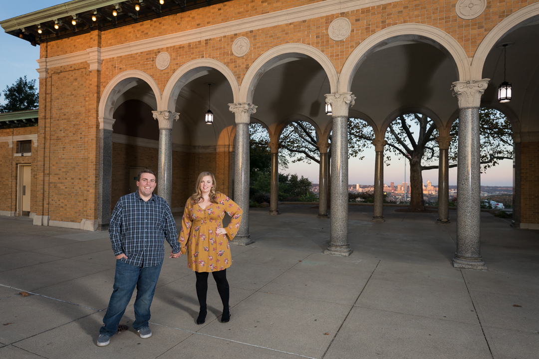 Engagement Picture Ault Park
