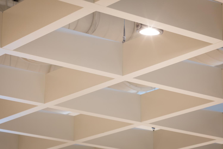 Ceiling photoshoot