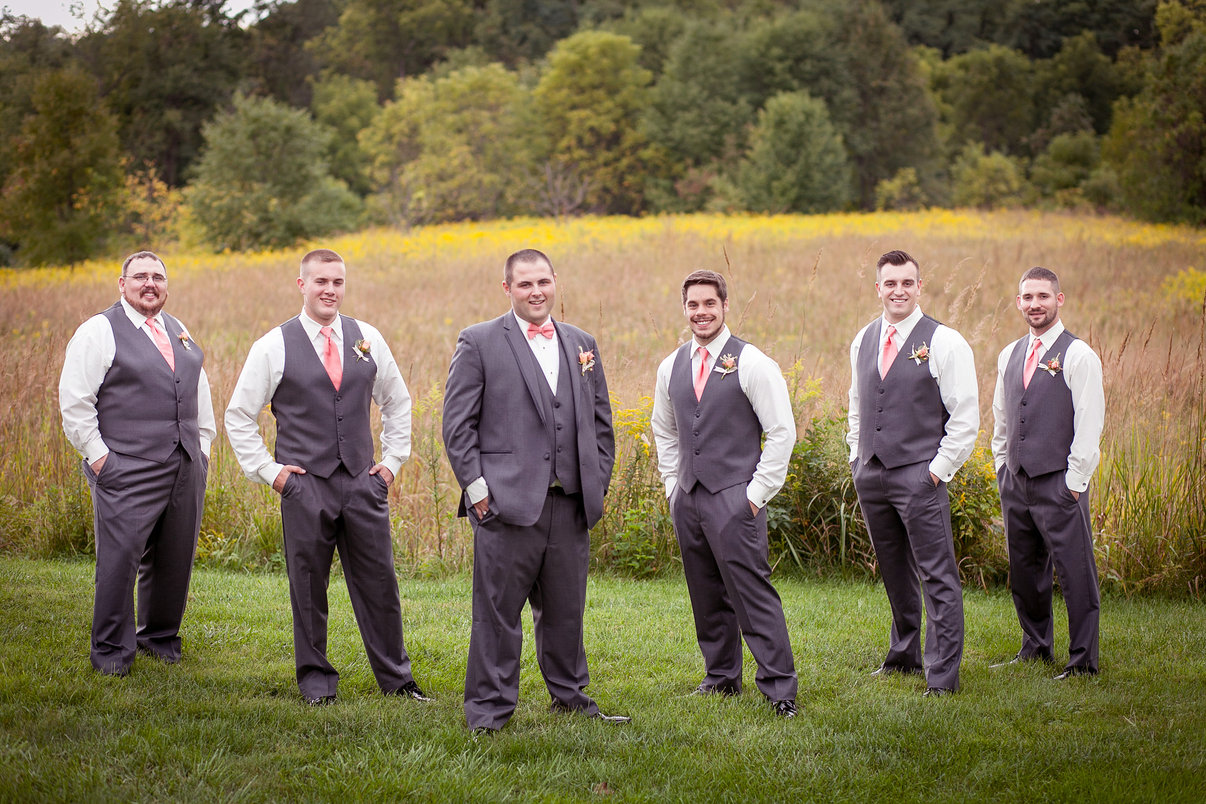 image of groom and groomsmen